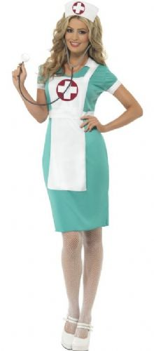 Scrub Nurse - Sexy Fancy Dress (Smiffys 25870)